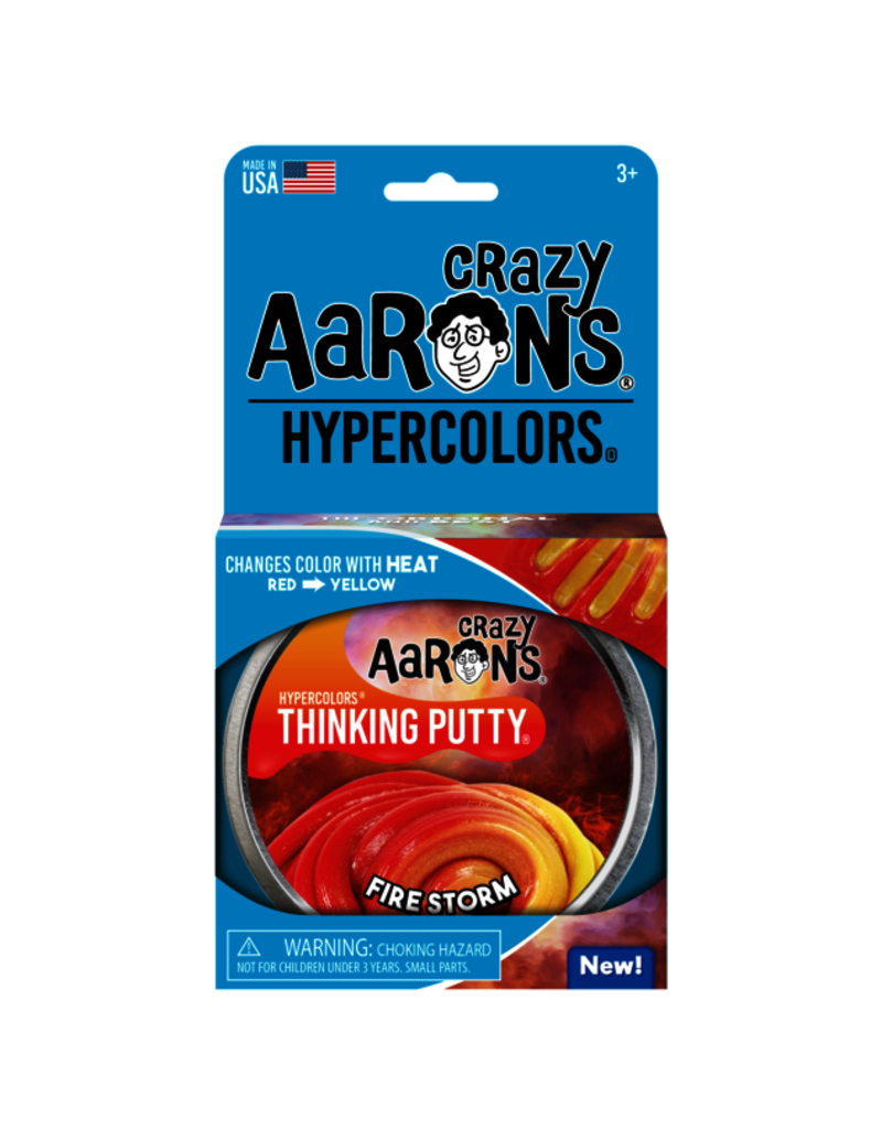 Crazy Aaron Fire Storm Hypercolor Putty