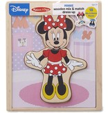 Melissa and Doug Disney Minnie Wooden Mix & Match Dress-Up