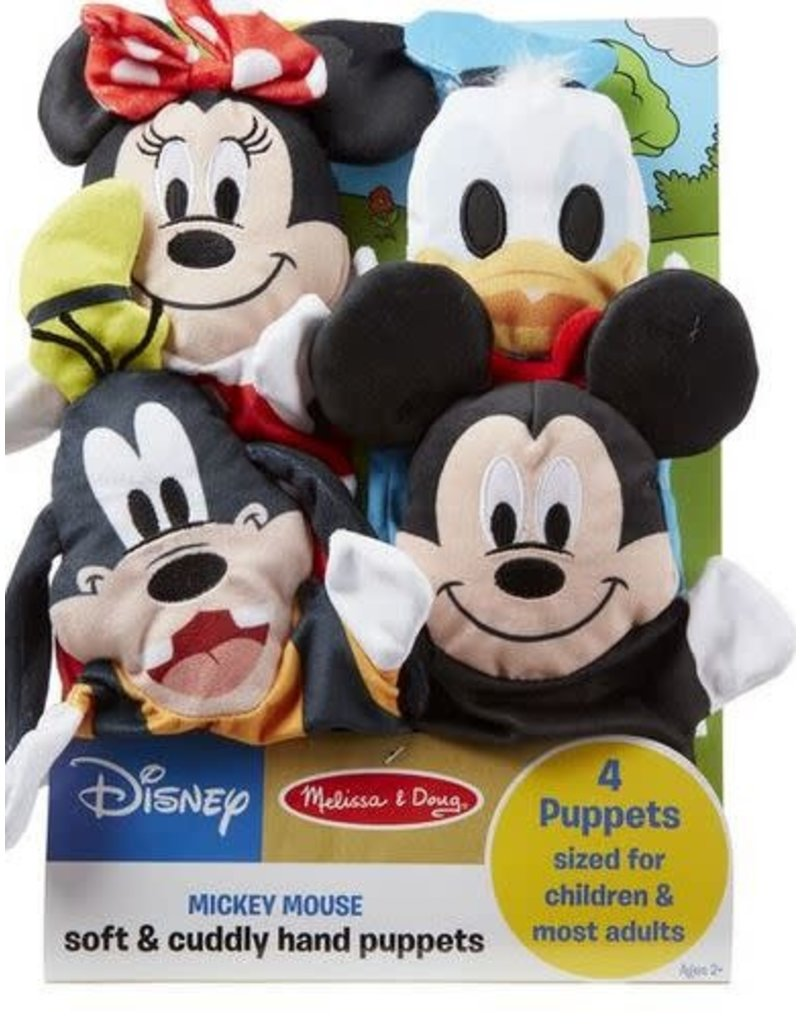 Melissa and Doug Disney Mickey Mouse Hand Puppets