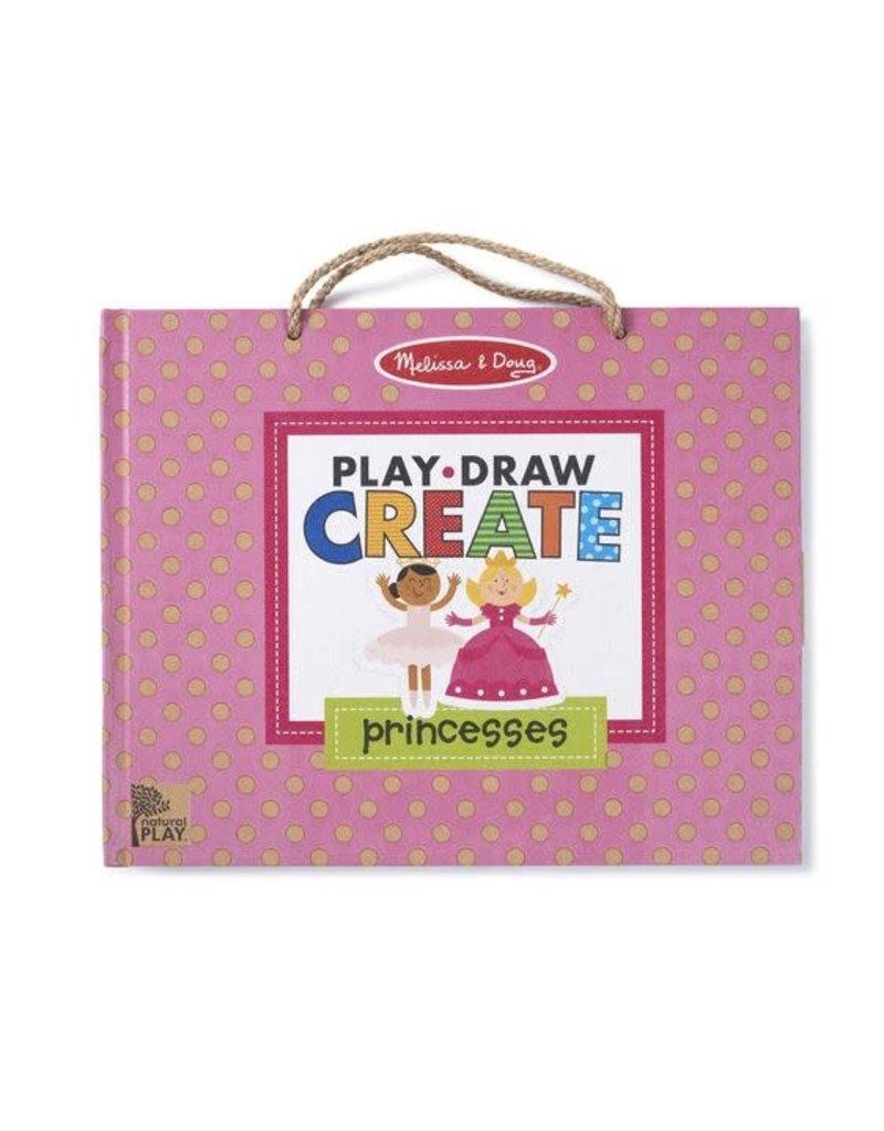 Melissa and Doug Play, Draw, Create - Princess