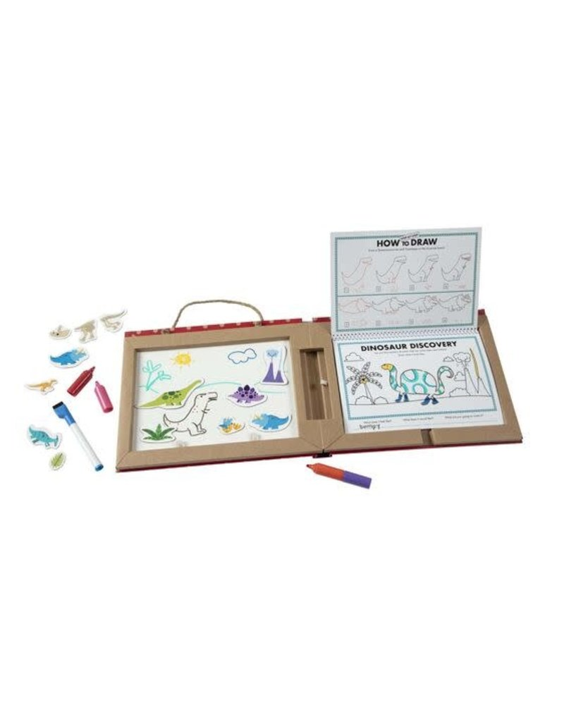 Melissa and Doug Play, Draw, Create - Dinosaurs