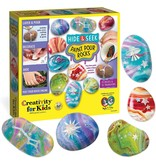 Creativity for Kids Hide & Seek Paint Pour Rocks