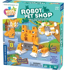 Thames and Kosmos Kids First Robot Pet Shop