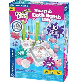 Thames and Kosmos Ooze Labs: Soap & Bath Bomb Lab