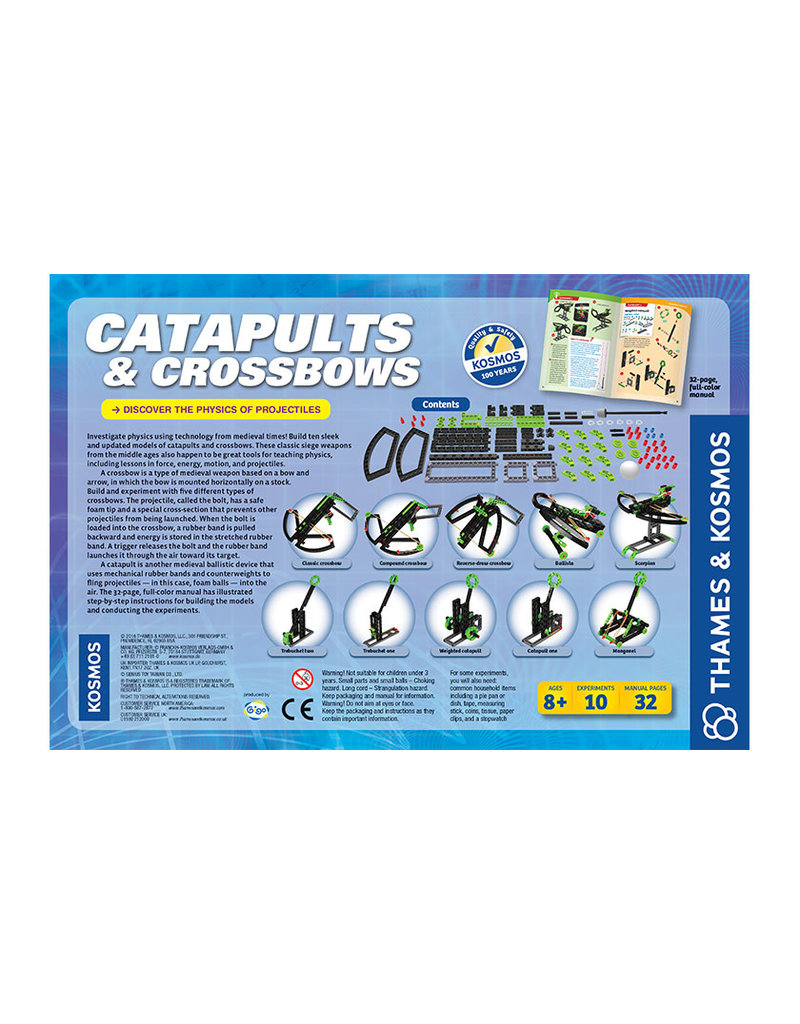 Thames and Kosmos Catapults & Crossbows