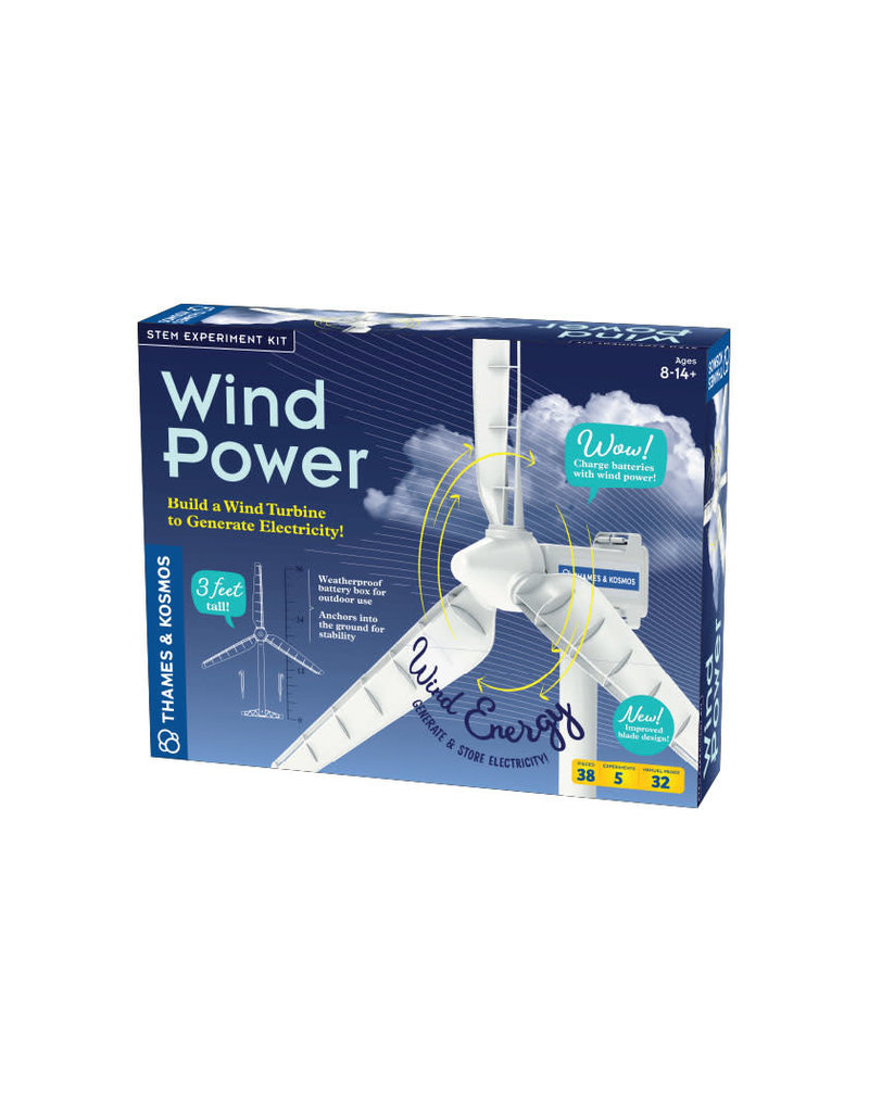 Thames and Kosmos Wind Power (V 4.0)