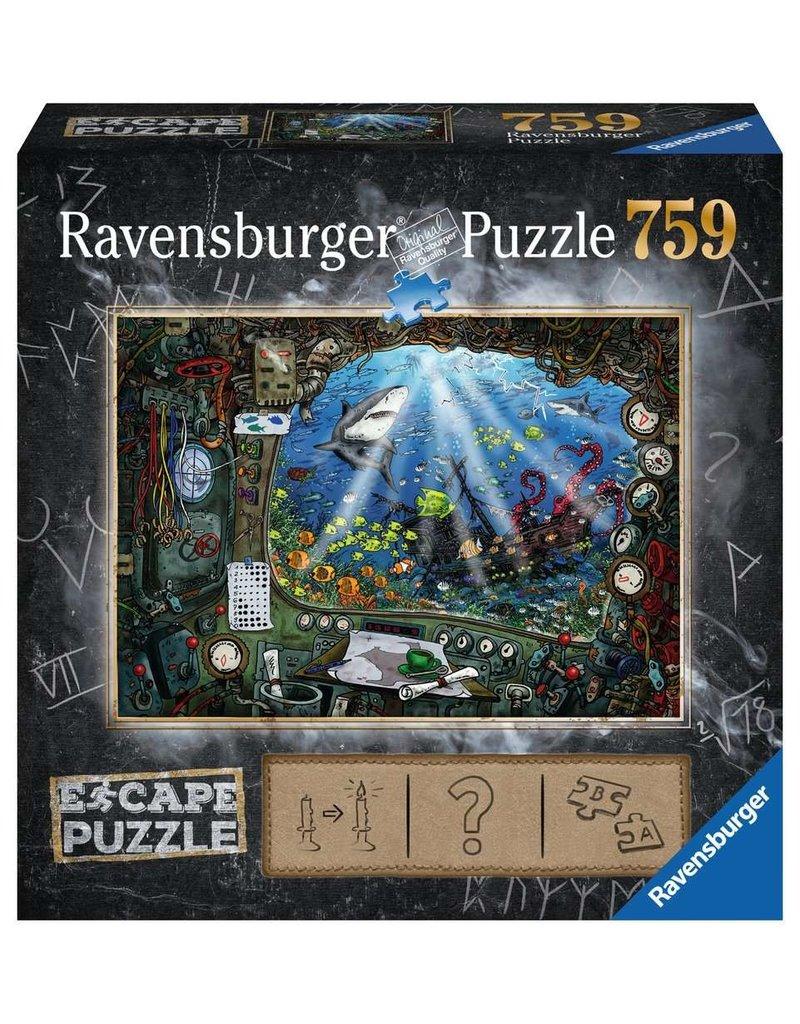 Ravensburger Escape Puzzle - Submarine 759 pc