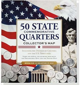 Peter Pauper State Quarters Map