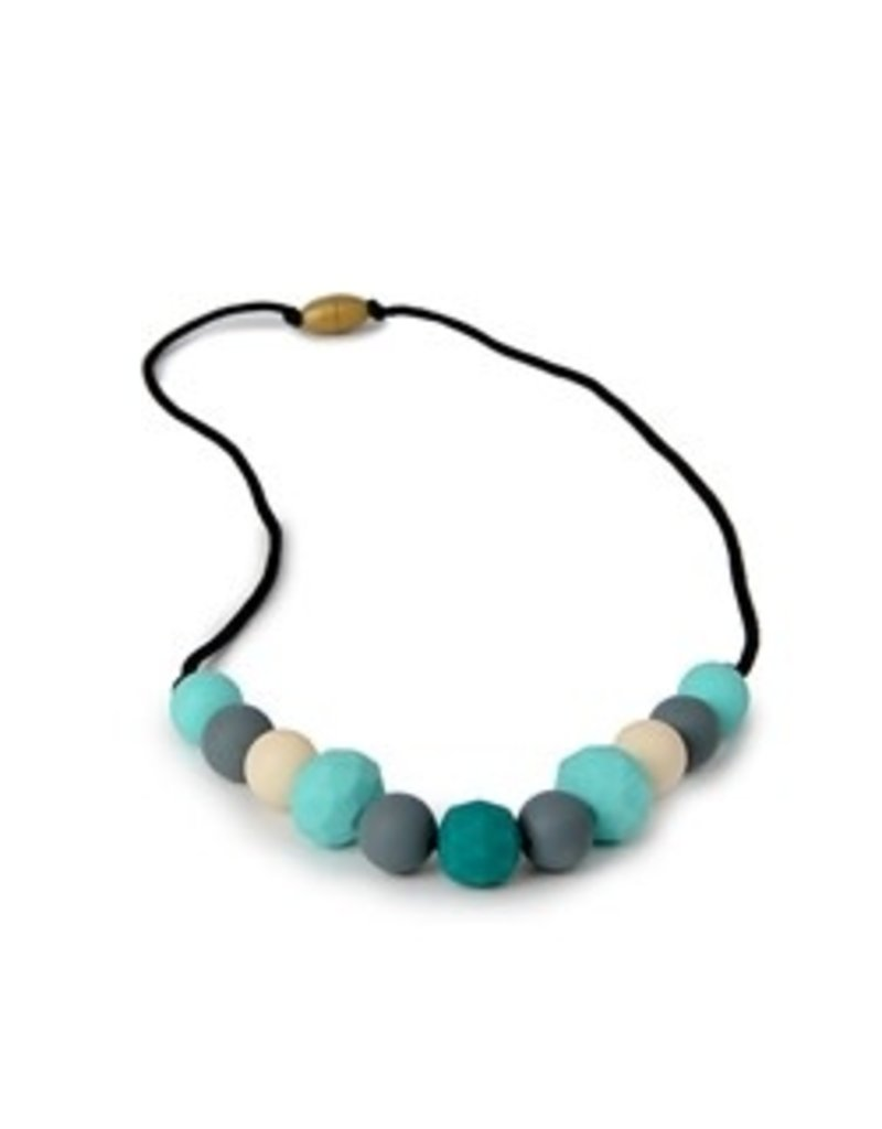 Chew Beads Chelsea Necklace - Turquoise assort