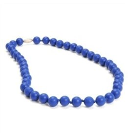 Chew Beads Jane Necklace - Colbalt Blue