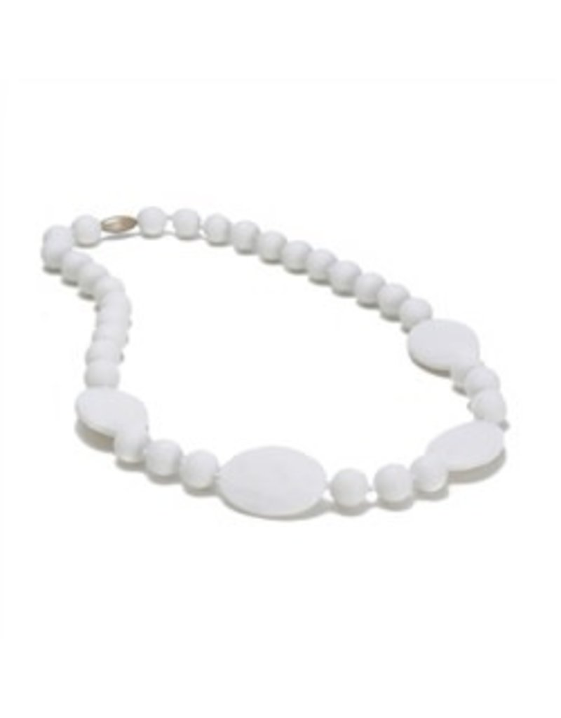 Chew Beads Perry Necklace - White