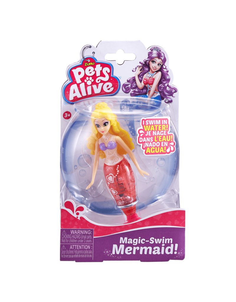 ZURU Mermaids Pets Alive (assorted colors)