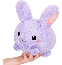 Squishables Purple Fluffy Bunny Squishable