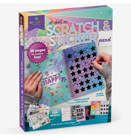 Ann Williams Craft-tastic Scratch & Sticker Journal
