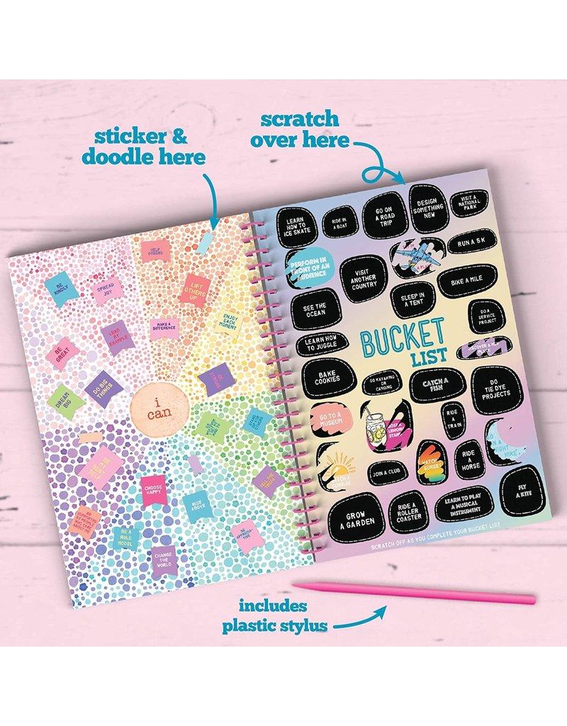 Ann Williams Craft-tastic Scratch & Sticker Journal