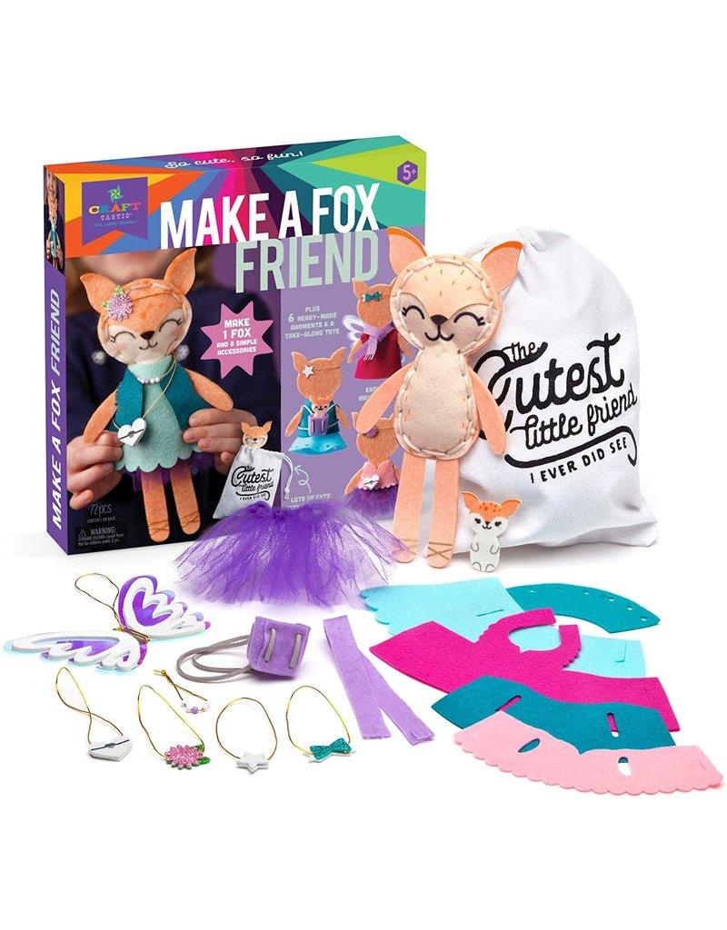 Ann Williams Craft-tastic Make A Fox Friend