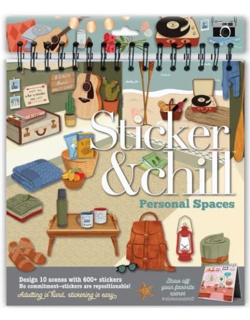 Ann Williams Sticker & Chill Personal Spaces