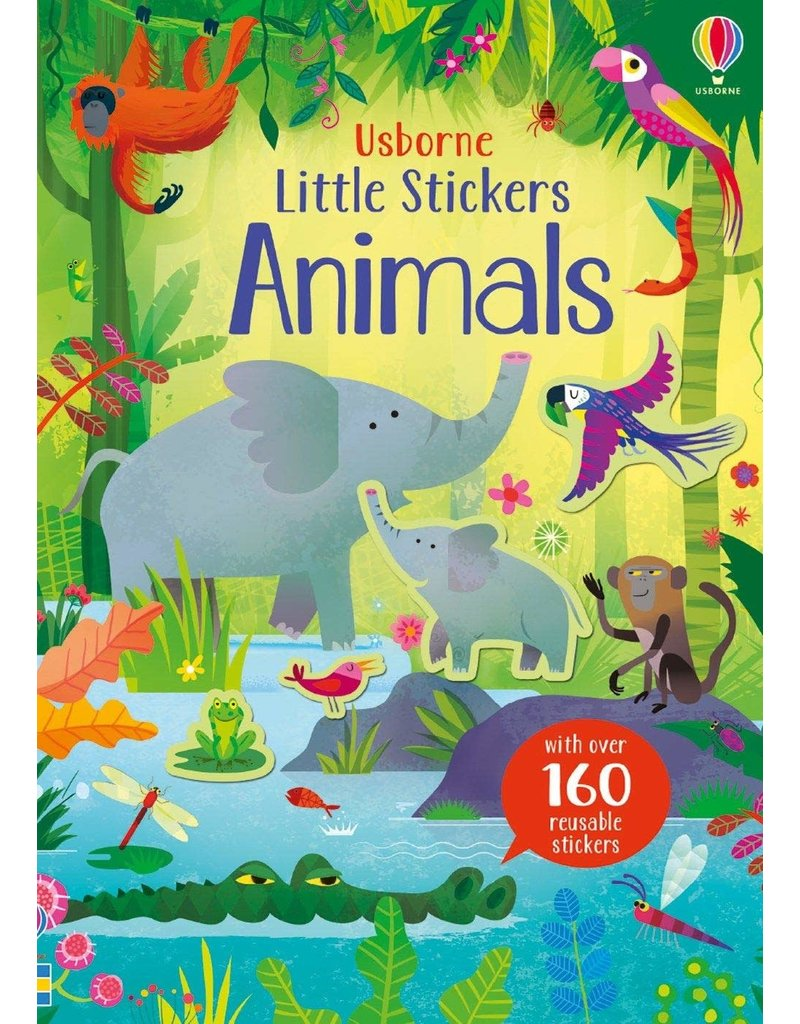 Usborne Little Stickers Animals
