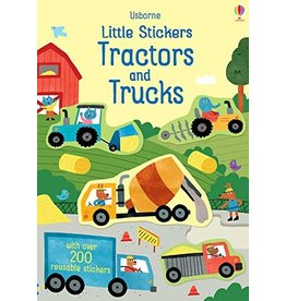 Usborne Little Stickers Tractors and Trucks
