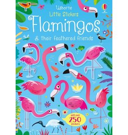 Usborne Little Sticker Flamingos