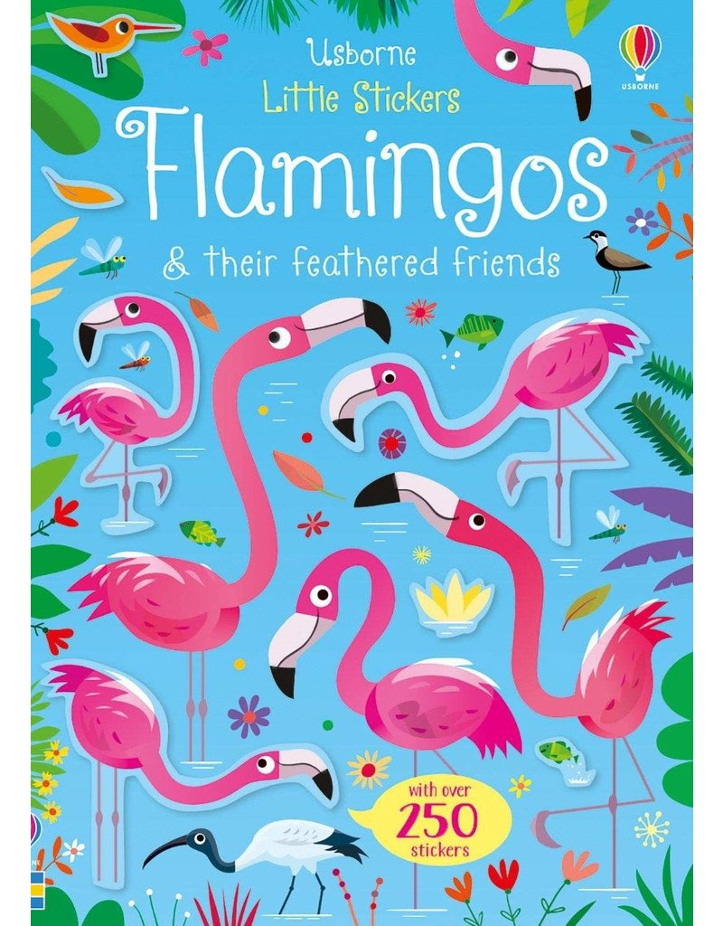 Usborne Little Sticker Flamingos
