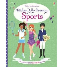 Usborne Sticker Dolly Dressing Sports