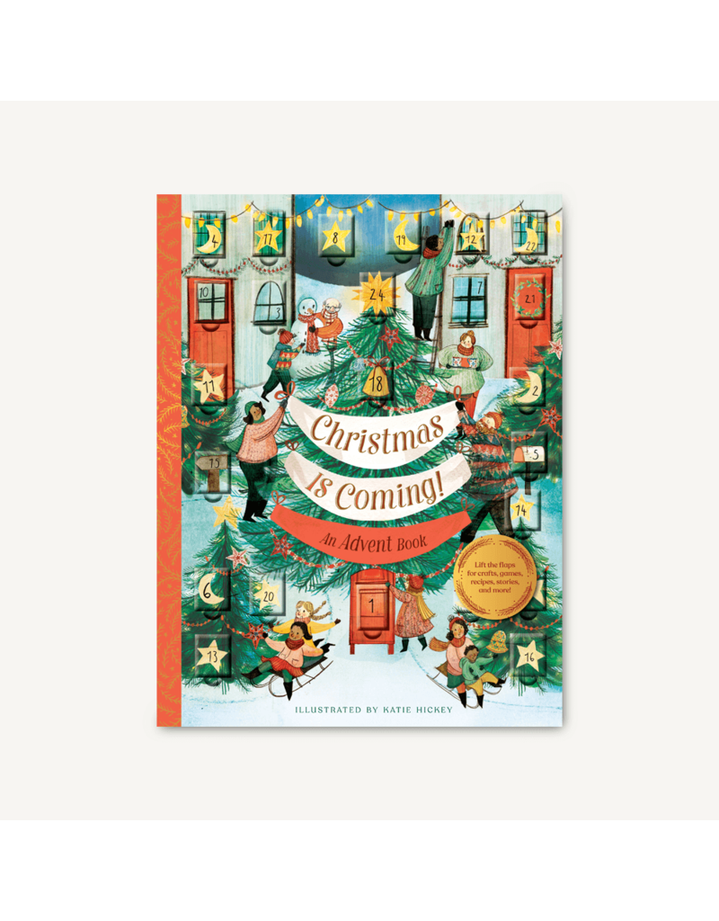 Chronicle Books Christmas is Coming: Advent Book