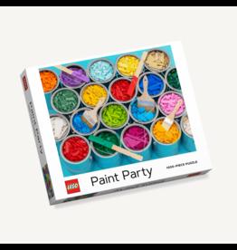 Chronicle Books Lego Paint Party 1000 pc puzzle