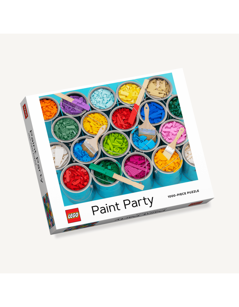 Chronicle Books Lego Paint Party 1000 pc puzzle