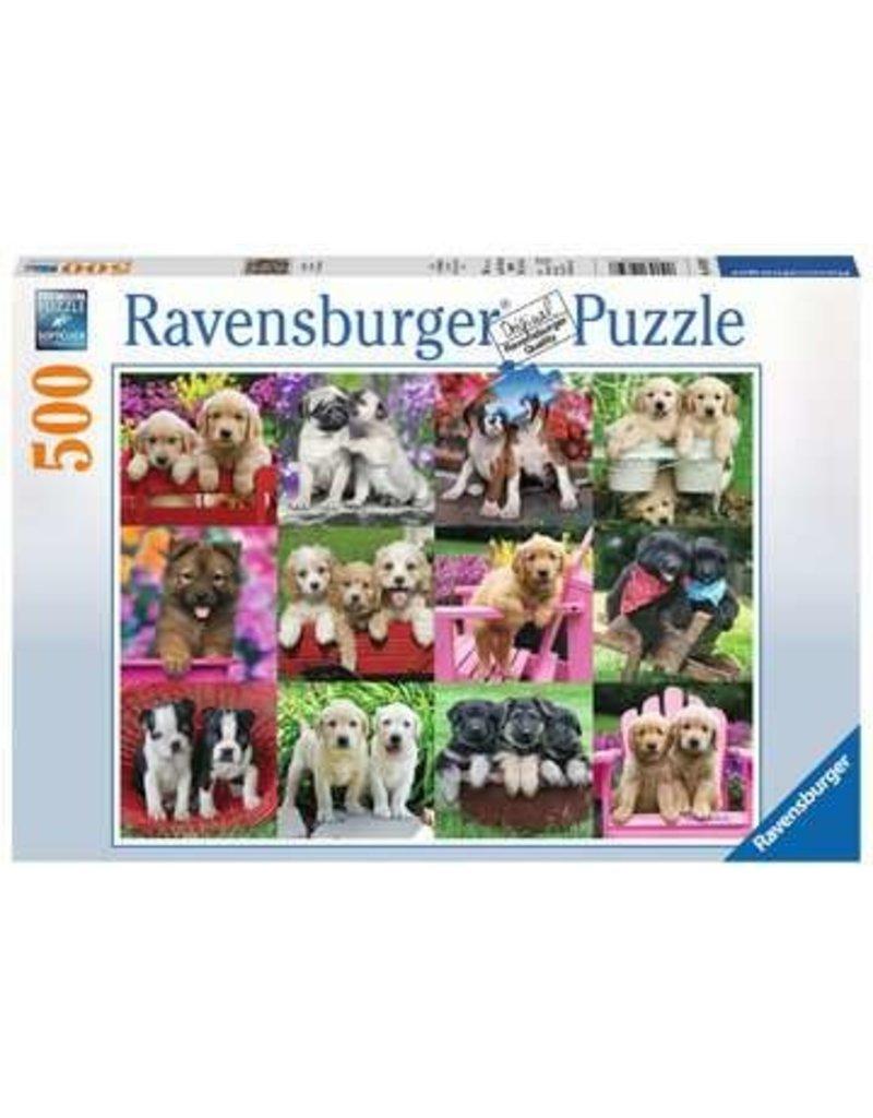 Ravensburger Puppy Pals 500 pc