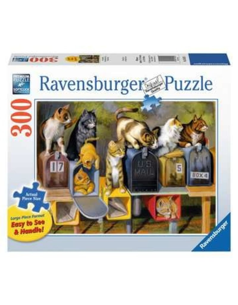 Ravensburger Cat's Got Mail 300 pc XL