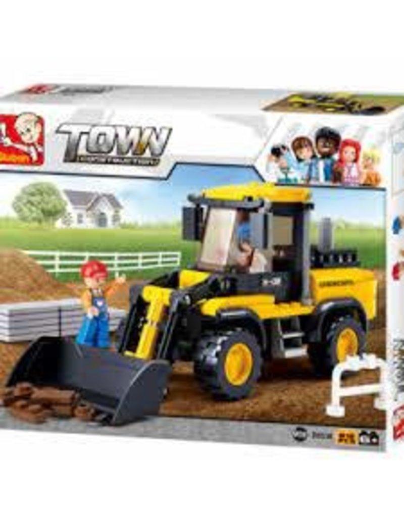 Texas Toy Town Bulldozer 212 pc