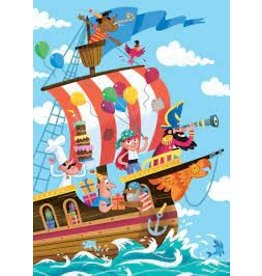 Peaceable Kingdom Pirate Tattoo BD