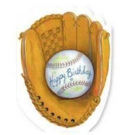 Peaceable Kingdom Baseball Mitt Birthday Card