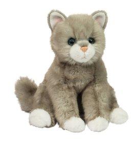 Douglas Toys Rita Light Gray Cat