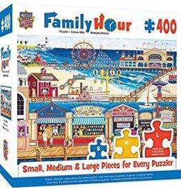 Masterpieces Puzzles Ocean Park 400 pc Family