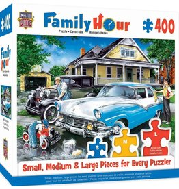 Masterpieces Puzzles Three Generations 400 pc Family