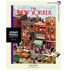 New York Puzzle Co The New Yorker Main Street 1000 pc