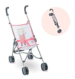 Corolle Umbrella Stroller - Pink