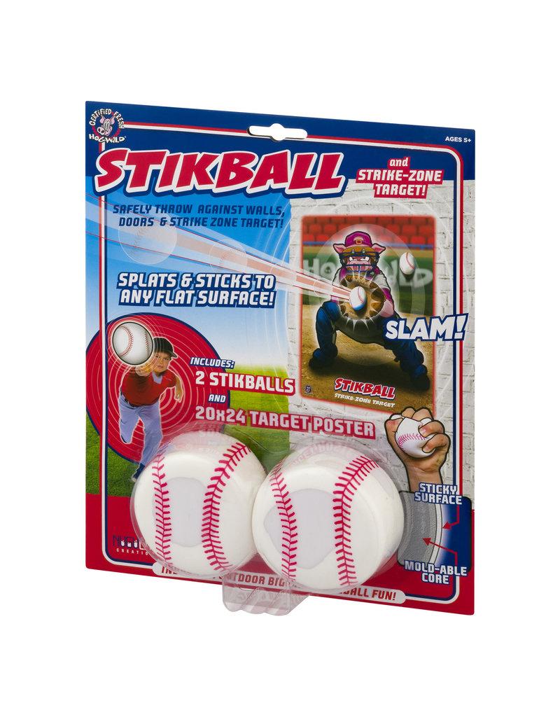 Hog Wild Stikball w/Strike Zone Target