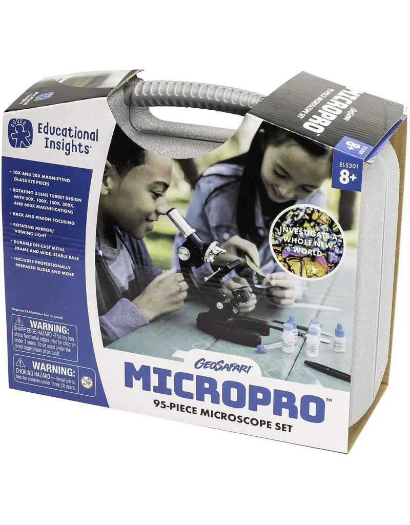 Educational Insights MicroPro 48 pc Microscope Set