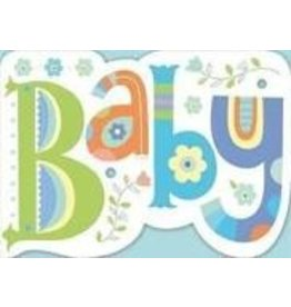 Peaceable Kingdom Baby Die-Cut Card