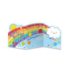 Rainbow Tri-Fold Card