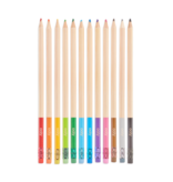 Ooly UnMistakeAbles Erasable Colored Pencils - Set of 12