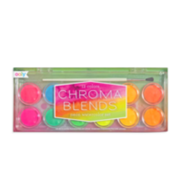 Ooly Chroma Blends Watercolors - Neon