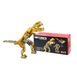 Metomics T-Rex Aztec Gold 3 in 1, 290 pc