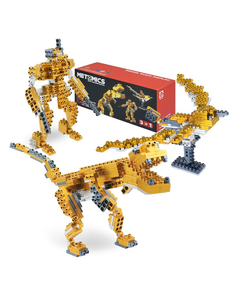 Metomics T-Rex Aztec Gold 3 in 1, 290 pc