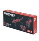 Metomics Ruby Red 3 in 1 Gecko, 150 pc