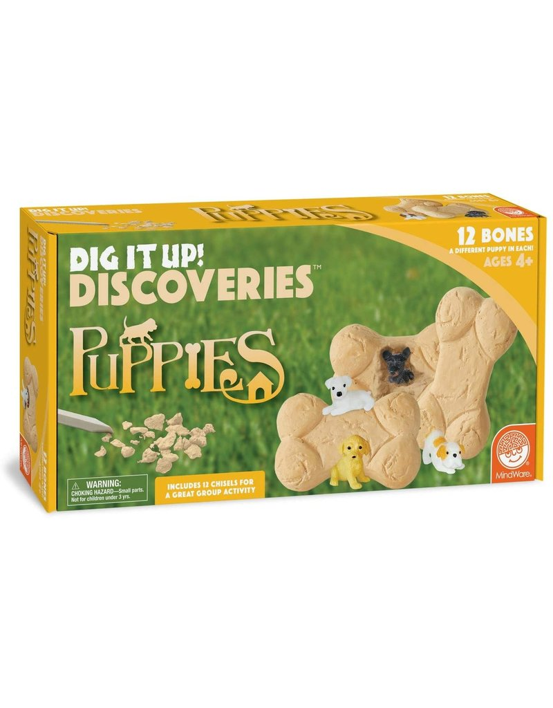 Mindware Dig It Up! Puppies