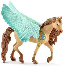 Schleich Decorated Pegasus, stallion